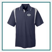 Devon & Jones Men's DRYTEC20 Performance Colorblock Polo with Custom Embroidery, Devon & Jones DG180 Custom Embroidered, Devon & Jones Corporate Apparel