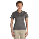 Devon & Jones Ladies Pima-Tech Jet Piqué Heather Polo with Custom Embroidery, Devon & Jones DG210W Custom Embroidered, Devon & Jones Corporate Apparel