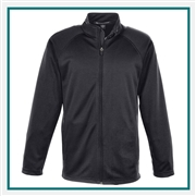 Devon & Jones Men's Stretch Tech-Shell Compass Full Zip Pullover with Custom Embroidery, Devon & Jones DG420 Custom Embroidered, Devon & Jones Corporate Apparel