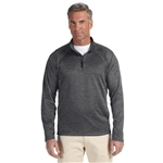 Devon & Jones Men's Stretch Tech-Shell Compass Quarter Zip Pullover with Custom Embroidery, Devon & Jones DG440 Custom Embroidered, Devon & Jones Corporate Apparel