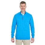 Devon & Jones Men's DRYTEC20 Performance Quarter-zip Pullover with Custom Embroidery, Devon & Jones DG479 Custom Embroidered, Devon & Jones Corporate Apparel