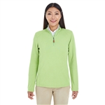 Devon & Jones Ladies DRYTEC20 Performance Quarter-zip  with Custom Embroidery, Devon & Jones DG479W Custom Embroidered, Devon & Jones Corporate Apparel