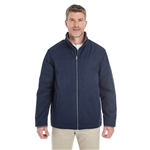 Devon & Jones Men's Hartford All-season Club Jacket with Custom Embroidery, Devon & Jones DG794 Custom Embroidered, Devon & Jones Corporate Apparel