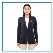 Devon & Jones Ladies Perfect Fit Shawl Collar Cardigan with Custom Embroidery, Devon & Jones DP462W Custom Embroidered, Devon & Jones Corporate Apparel