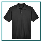 Harriton Men's 6 oz. Tall Ringspun Cotton Piqué Short-Sleeve Polo with Custom Embroidery, Harriton M200T Prime Custom Embroidered, Harriton Corporate Apparel