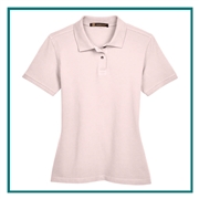 Harriton Ladies' 6 oz. Ringspun Cotton Piqué Short-Sleeve Polo with Custom Embroidery, Harriton M200W Prime Custom Embroidered, Harriton Corporate Apparel