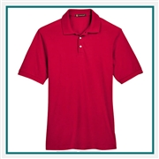 Harriton Men's 5.6 oz. Easy Blend Polo with Custom Embroidery, Harriton M265 Prime Custom Embroidered, Harriton Corporate Apparel
