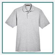 Harriton Men's 5.6 oz. Tall Easy Blend Polo with Custom Embroidery, Harriton M265T Prime Custom Embroidered, Harriton Corporate Apparel