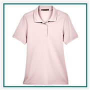 Harriton Ladies' 5.6 oz. Easy Blend Polo with Custom Embroidery, Harriton M265W Prime Custom Embroidered, Harriton Corporate Apparel