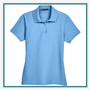 "Harriton Ladies' 5 oz. Blend-Tekâ""¢ Polo with Custom Embroidery, Harriton M280W Prime Custom Embroidered, Harriton Corporate Apparel"