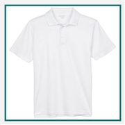 Harriton Men's 6 oz. Ringspun Cotton Piqué Short-Sleeve Polo with Custom Embroidery, Harriton M315 Prime Custom Embroidered, Harriton Corporate Apparel