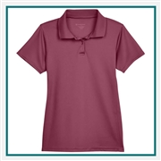Harriton Ladies' 4 oz. Polytech Polo with Custom Embroidery, Harriton M315W Prime Custom Embroidered, Harriton Corporate Apparel