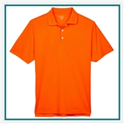 Harriton Men's Double Mesh Polo with Custom Embroidery, Harriton M353 Prime Custom Embroidered, Harriton Corporate Apparel