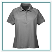 Harriton Ladies' 3.8 oz. Polytech Mesh Insert Polo with Custom Embroidery, Harriton H374W Prime Custom Embroidered, Harriton Corporate Apparel