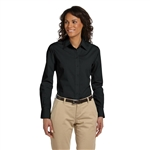 Harriton Ladies' 3.1 oz. Essential Poplin with Custom Embroidery, Harriton Branded Poplin Shirts