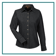 Harriton Custom Long-Sleeve Denim Shirts