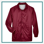 Harriton Adult Nylon Staff Jacket with Custom Embroidery, Harriton M775 Prime Custom Embroidered, Harriton Corporate Apparel