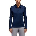 Adidas Women's Tournament Long Sleeve Polo Shirt with Custom Embroidery, Adidas Corporate Apparel, Adidas Women's Golf Polo