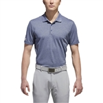 Adidas Performance Heather Polo Custom