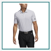 Adidas Ultimate 365 Pencil Stripe Polo Custom