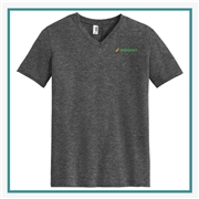 Anvil Tri Blend V Neck Tee Custom Logo