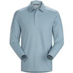 Arcteryx Men's Captive Polo Shirt Long Sleeve Custom Embroidered