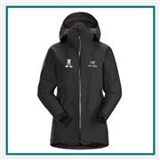 Arcteryx Women's Zeta SL Jacket Custom Embroidered