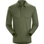 Arcteryx Men's A2B Polo Shirt LS Custom Embroidered
