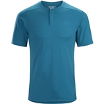 Arcteryx Men's Kadem Henley SS Custom Embroidered