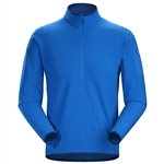 Arcteryx Men's Delta LT Zip Neck Pullover Custom Embroidered