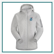 Arcteryx Ladies Covert Hoody Embroidered Logo