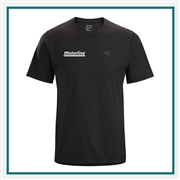Arcteryx Men's Remige Shirt SS Custom Printed