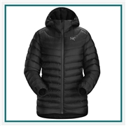 Arcteryx Ladies Cerium LT Hoody Jacket Custom Embroidery