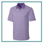 Cutter & Buck Big & Tall Trevor Stripe Polo Corporate Logo