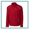 Cutter & Buck Extended Size Beacon Half Zip Jacket Custom Embroidered