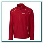 Cutter & Buck Extended Size WeatherTec Beacon Half Zip Jacket with Custom Embroidery, Cutter & Buck Custom Jackets, Cutter & Buck Corporate Logo Gear