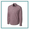 Cutter Buck Big & Tall L/S Epic Easy Care Gingham Shirt Corporate Logo