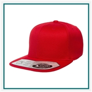 Yupoong One Ten Snapback 110F with Custom Embroidery, Custom Logo Yupoong Brand Caps, Yupoong Custom Embroidered Caps, Yupoong Custom Logo Hats