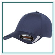 Flexfit Adult with Cut & Sew on Visor Cap with Custom Embroidery, Custom Logo Flexfit Brand Caps, Flexfit Custom Embroidered Caps, Flexfit Custom Logo Hats