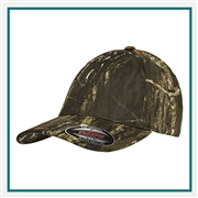 Flexfit Mossy Oak Camo Cap 6999  with Custom Embroidery, Custom Logo Flexfit Brand Caps, Flexfit Custom Embroidered Caps, Flexfit Custom Logo Hats
