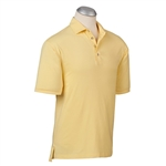 Bobby Jones Solid Liquid Cotton Polo Custom Embroidered