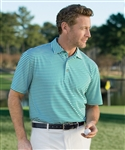 Bobby Jones XH20 Feed Stripe Pique Polo with Custom Embroidery, Bobby Jones BJ230031 Custom Embrodiered, Custom Embroidered Bobby Jones Polo Shirts, Embroidery on Bobby Jones polos, Bobby Jones ASI, Bobby Jones Corporate