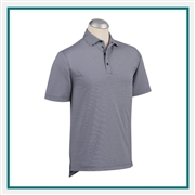 Bobby Jones XH2O Jacquard Performance Polo Custom Embroidered