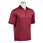 Bobby Jones Sphinx Jacquard Cotton Stretch Polo Custom Embroidered