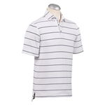 Bobby Jones XH20 Stripe Jersey Pique Polo Custom Embroidered