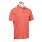 Bobby Jones XH20 Pique Solid Raglan Polo Shirt Custom Embroidered