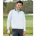 Bobby Jones XH2O Solid Quarter-Zip Pullover Custom Embroidered