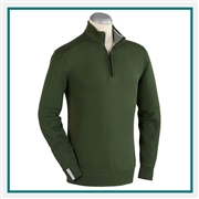 Bobby Jones Leaderboard Pima Cotton Quarter-Zip Pullover Custom Embroidered