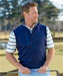 Bobby Jones XH2O Crawford Quarter Zip Vest Custom Embroidered