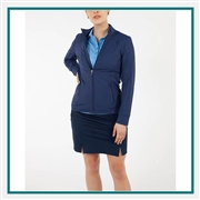 Bobby Jones Women's Tech Solid Full-Zip Jacket Custom Embroidered
